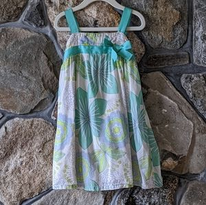 Floral Sundress with a bow